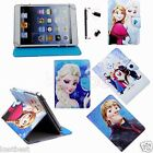 Pen & Cute Frozen Cartoon Leather Case Cover For 7 7-inch Android / Win8 Tablet