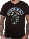 OFFICIAL Sons Of Anarchy Main Logo Banner T Shirt  Black  S M L XL XXL