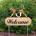 English Foxhound  Welcome Sign Stake. Home,Yard & Garden Decor. Dog Products