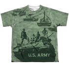 US Armed Forces Army Tanks Through History Youth 2-Sided Print T-Shirt