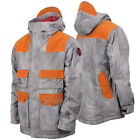 BURTON Mens 2014 ANALOG Snowboard Snow Hickory Stripe ALDER JACKET