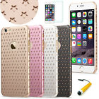 "Slim 0.6mm Twinkle Stars PC Hard Case Star Pattern for 4.7"" iPhone 6 / 6S #44"