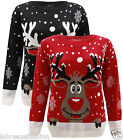 RUDOLPH REINDEER CHRISTMAS XMAS JUMPER SWEATER SAME DAY DESPATCH ORDER BEF 10AM