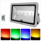 Brightest 150w 200w 250W RGB Color Changing LED  Security Flood light Spotlights