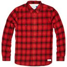adidas Originals Flannel Shirt Sizes XS-XL Red RRP £75 BNWT G69004