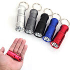 Mini 1600LM Ultrabright CREE T6 Keychain LED Flashlight Torch Lamp 3 Modes New