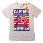 CAPTAIN AMERICA CHARACTER OFFICIAL MARVEL COMICS PRINTED T-SHIRT