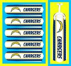 "NFL SAN DIEGO CHARGERS TEAM LOGOS CEILING FAN REPLACEMENTS BLADES 52"" (5 BLADES)"
