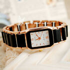 balck brand new square dial lovely women quartz movement stylish fashion watches