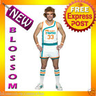 C532 Semi-Pro Jackie Moon Flint-Tropics Basketball Jersey Uniform Adult Costume