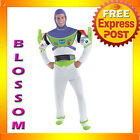 C75 Licensed Mens Toy Story Buzz Lightyear Deluxe Fancy Adult Costume