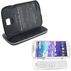 Slide Wireless Bluetooth 3.0 Keyboard Stand case for Samsung Galaxy S4 I9500 dgg