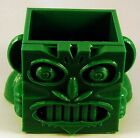 Mayan Cube Head Planter - 3D Printed - PLUS FREE Spruce Seeds!
