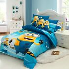 Despicable Me Dave and Stuart Single Bed Quilt Cover Set - Flat or Fitted Sheet