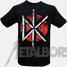 """Dead Kennedys """" Distressed Classic Logo """" T-Shirt 105777 #"""
