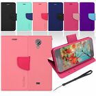 Colorful Wallet Magnetic Flip Fit Leather Case for Samsung Galaxy Light  T399