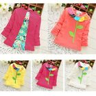 2015 Brand New 100% Cotton Baby Tops  Long Sleeve Novelty style T-Shirt
