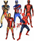 Marvel Comics Superhero Official Morph Suit - Halloween - Spiderman And More