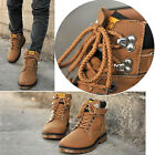 New boy fashion shoes faux leather Men lace-up martin Casual Winter boots X223