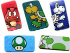 Nintendo: Super Mario Padded Hinged Purse/Clutch Bag New Official Yoshi / Goomba