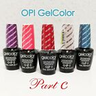 OPI GelColor PART C All New Soak Off Led UV Gel Lacquer Base Top Coat 15ml 0.5oz $22.26  on eBay