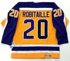 LUC ROBITAILLE LOS ANGELES KINGS CCM VINTAGE 1986 ROOKIE SEASON JERSEY NEW