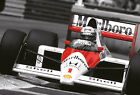 Ayrton Senna F1 Car Giant Poster - A0 A1 A2 A3 A4 Sizes