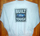 """ BUILT FORD TOUGH "" Long Sleeve T Shirt Light Grey Sz SM - 5XL Ford Pride !!"