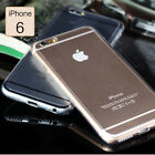 Ultra Thin Clear Crystal Rubber TPU Soft Case Cover For 4.7 iPhone 6 s Plus 5.5""