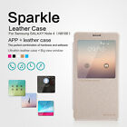S1 Nillkin Smart Sparkle Leather Flip Case Cover For Samsung Galaxy Note 4 N9100