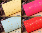 [Roll wrapping  paper] 18M 1Roll for Christmas gift wrap, Birthday : Gold stars