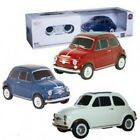 New Licensed fiat 500 1:24 radio control car Blue/Red/Cream colour toy game boy