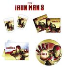 Iron Man 3 Birthday Party Decoration Item Tableware Supplies, Plates Napkins etc