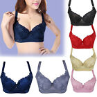 Hot Push Up Brassiere Enhancer Padded Underwire Bra Size 34 36 38 40 42 44 D LL