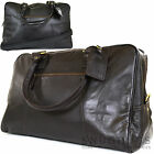 Mens /Ladies Super Luxury Leather Travel Bag/ Weekend/ Luggage /Holdall