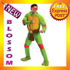 C881 Mens TMNT Teenage Mutant Ninja Turtles Deluxe RAPHAEL Fancy Adult Costume