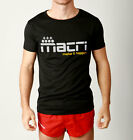 Mens MACRI Make it Happen Muscle Gym Cool dry Running Active Weight Training Tee