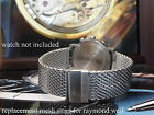 Mesh Bracelet  Band Metal Strap For Your Raymond Weil W1 Geneve 8000 Parsifal