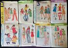 Vintage 1970's Children's Sewing Patterns Multi Size & Style Options All Uncut