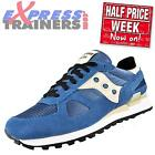 Saucony Mens Shadow Original Retro Running Trainers Blue Cream *AUTHENTIC*