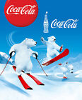 Christmas Coca Cola Polar Bear Giant Poster - A0 A1 A2 A3 A4 Sizes £4.5  on eBay