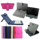 Universal USB Keyboard Or PU Leather Case For Android Tablet 10.1 9.7 9 8 7