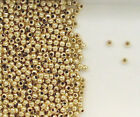14K Gold Filled Beads Beads, 2mm Seamless Round Design, New