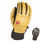 Rossignol Caress-Of-Steel Ski Gloves Leather Snowboard Padded Winter Thinsulate