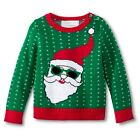 Infant Toddler Boys' Cool Santa Ugly Christmas Sweater