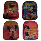 Disney Backpack Boys & Girls 4 Designs 28 x 22cm Mickey Cars Minnie Lunch Bag