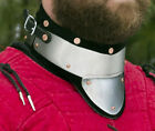 Внешний вид - Stainless Steel&Leather Gorget delivers GREAT Protection SCA/WMA medieval combat