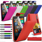 Stylish Funky Top Flip Folio Leather Case Cover Pouch Holder Shell