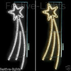 LARGE OUTDOOR LED SHOOTING STAR LAMP POST CHRISTMAS SILHOUETTE LIGHT DECORATION