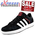 Adidas Originals Mens Varial Low Casual Classic Trainers Black White *AUTHENTIC*